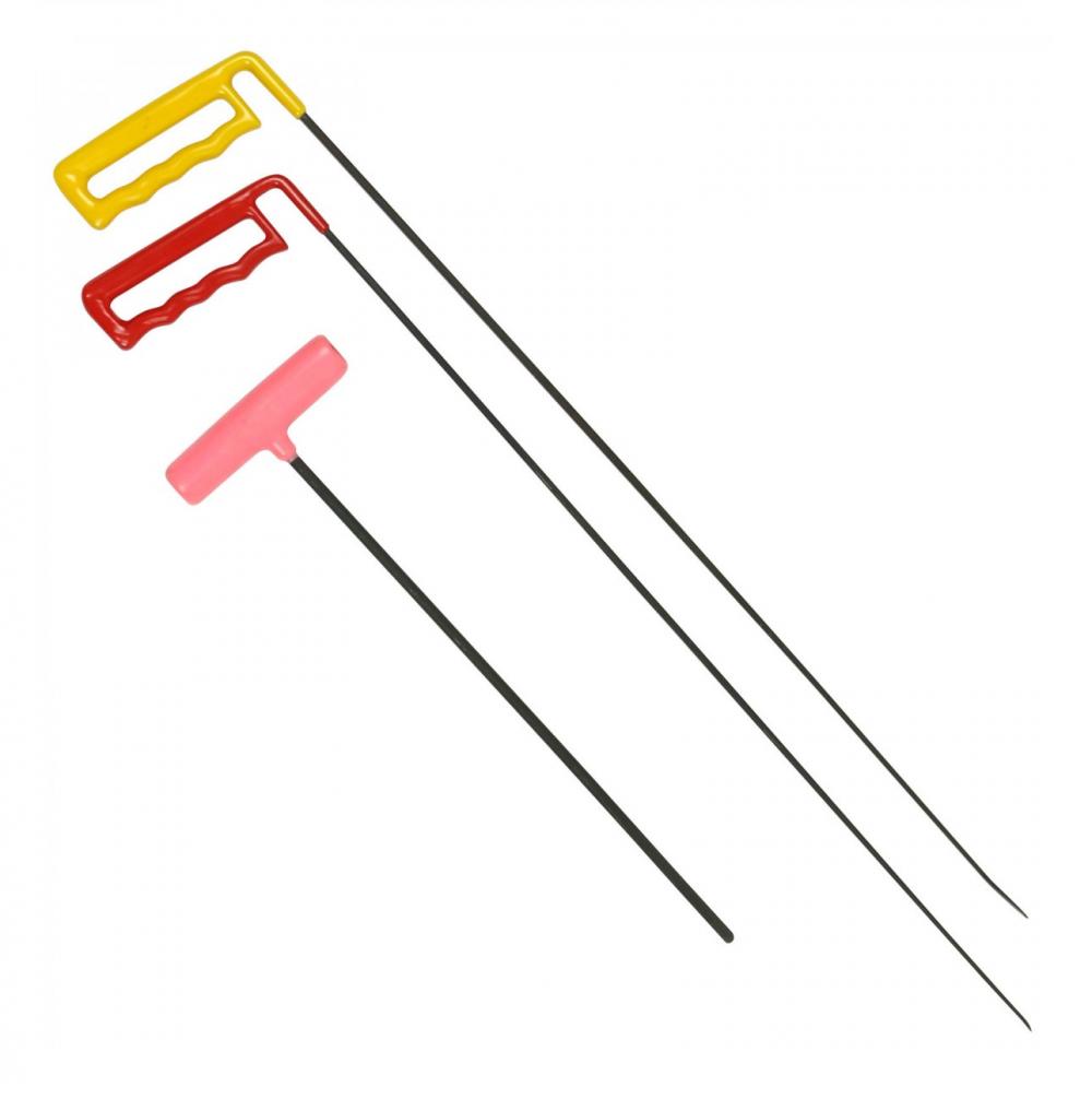 Detalhes do produto Kit hastes espada e haste espatulada