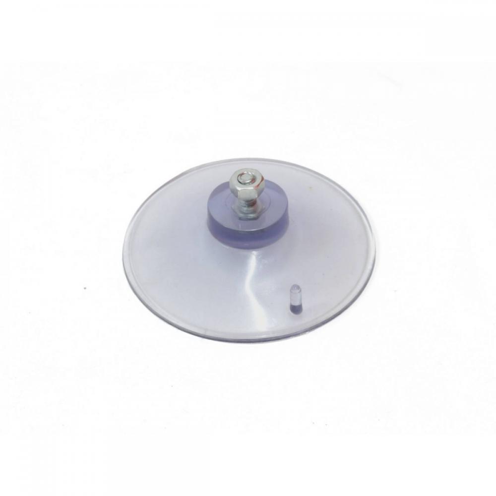 Ventosa de silicone com parafuso - Foto 1