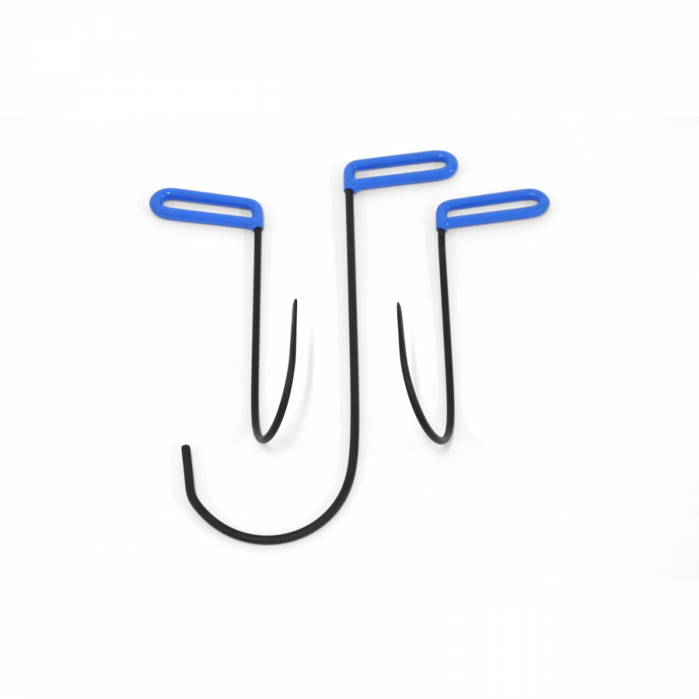 Detalhes do produto Kit gancho multifunção com 3 ferramentas